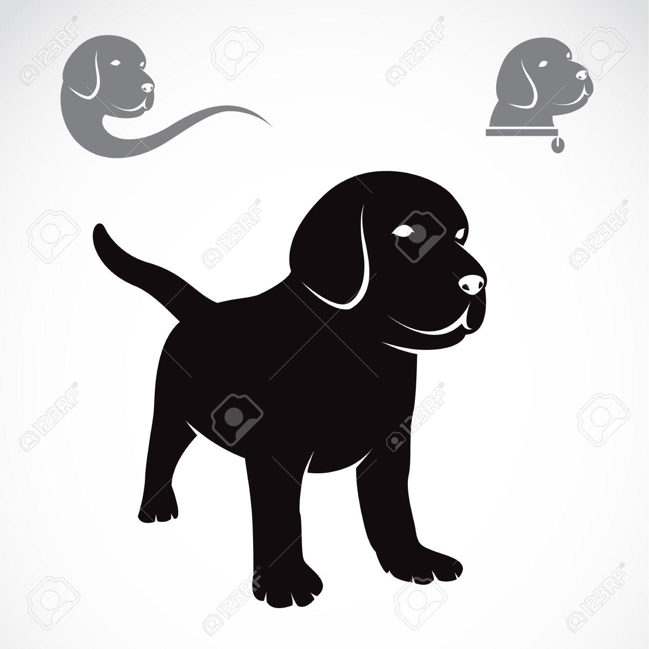 Black Lab Puppy Clipart (9 ).