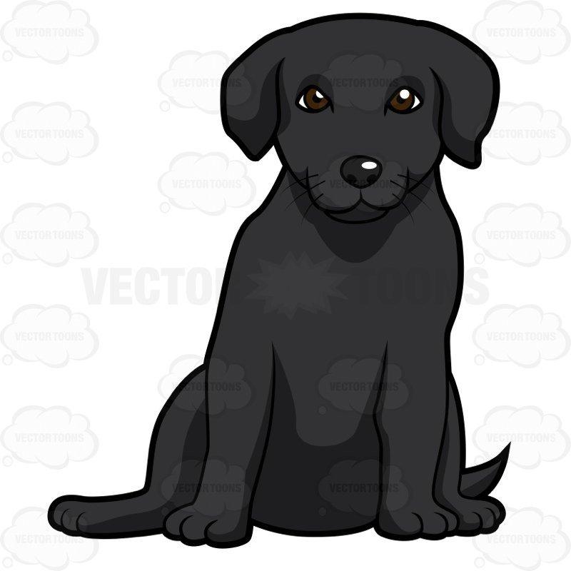 Black lab puppy clipart 9 » Clipart Portal.