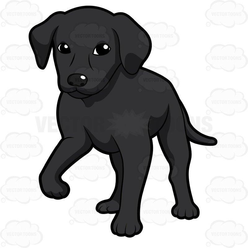 Black lab puppy clipart 6 » Clipart Portal.