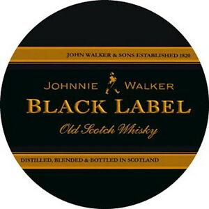 Details about Johnnie Walker Black Label Sticker Decal Vinyl Logo 4 stickers.