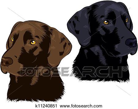Labrador Retriever Clipart.