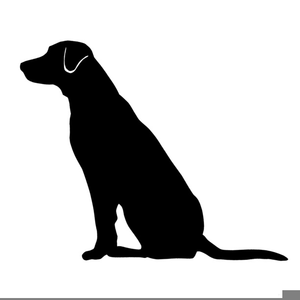 Labrador Retriever Clipart Free.