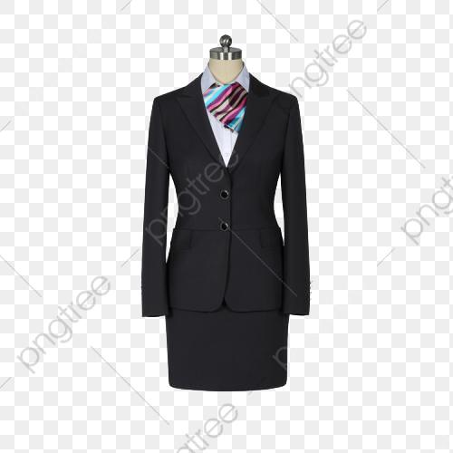 Real Shot Black Lady Suit, Lady Clipart, Suit Custom, Women's.