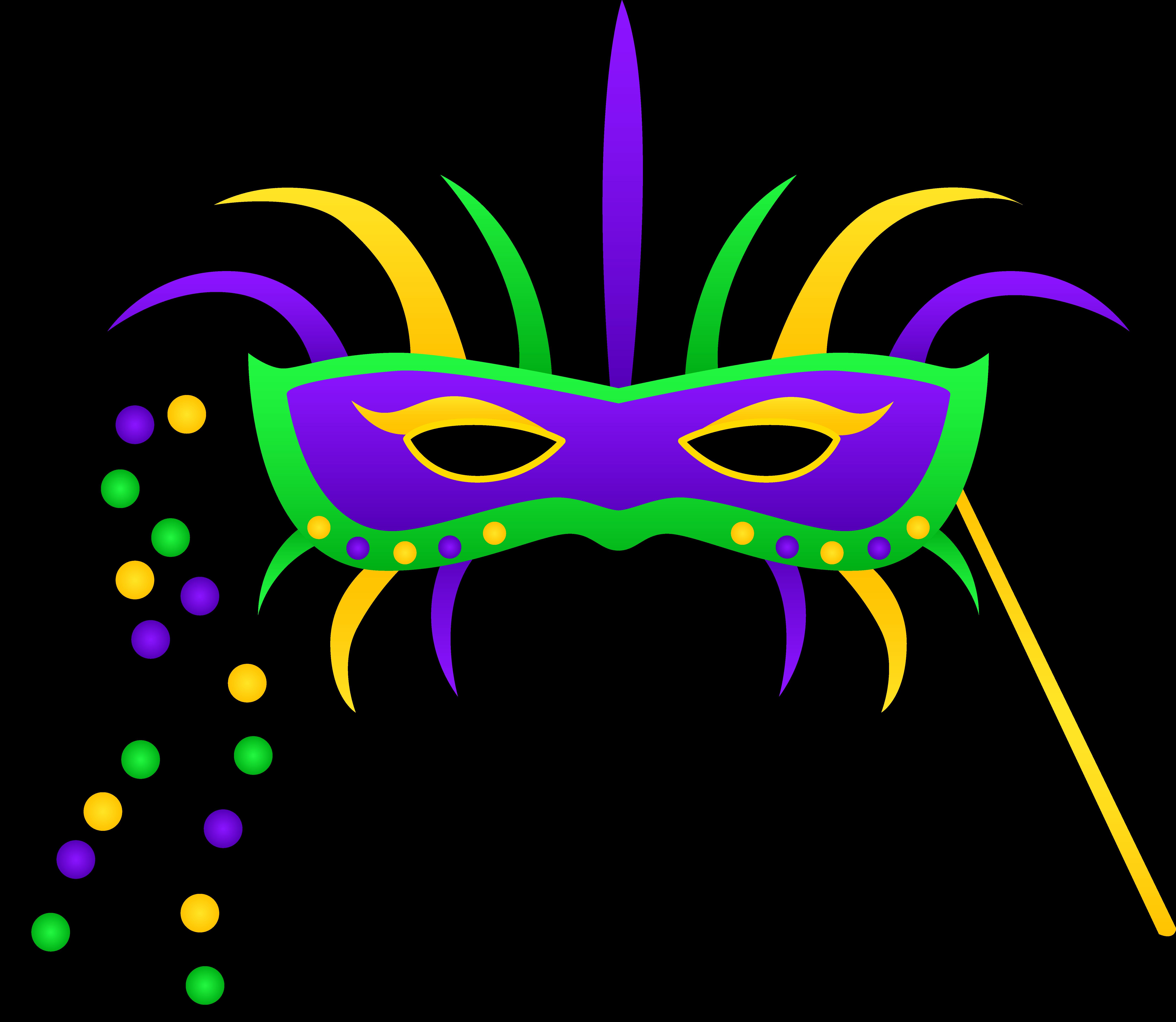 Mardi Gras Clipart Masks Design Jpg Crown Clip Art..
