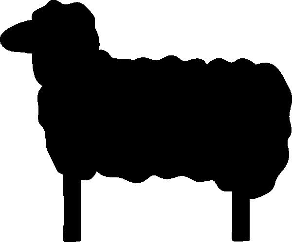 Black sheep Silhouette Clip art.