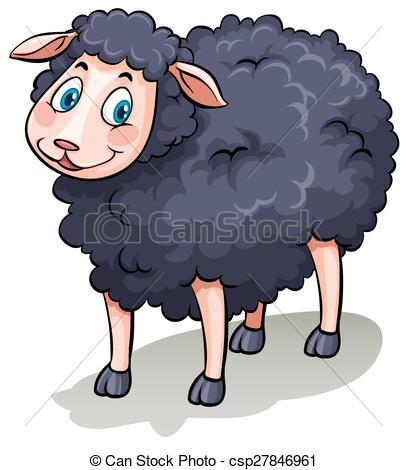 One black sheep.