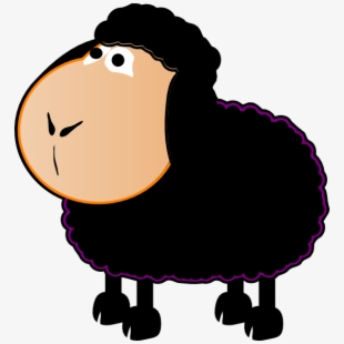 Cartoon Baa Baa Black Sheep #78410.