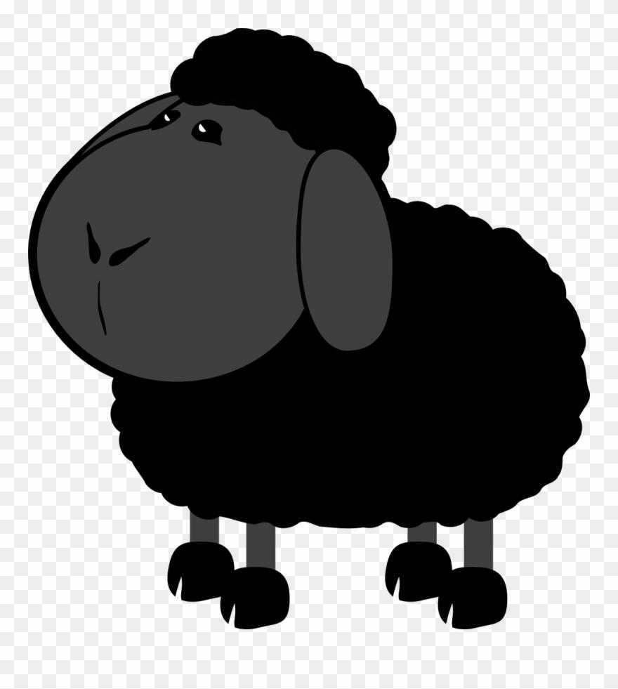 Farm Lamb Clipart.