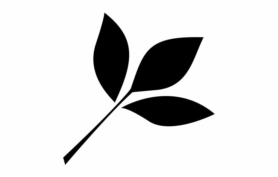 Black Leaf Png Leaf Icon.