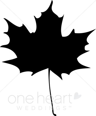 Maple leaves clipart green and white.