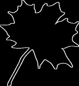 Black Leaf Clip Art at Clker.com.