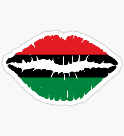 Black Liberation Flag: Stickers.