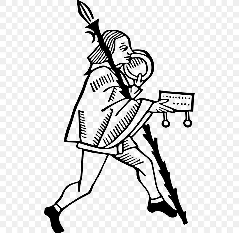Middle Ages Line Art Knight Drawing Clip Art, PNG, 516x800px.