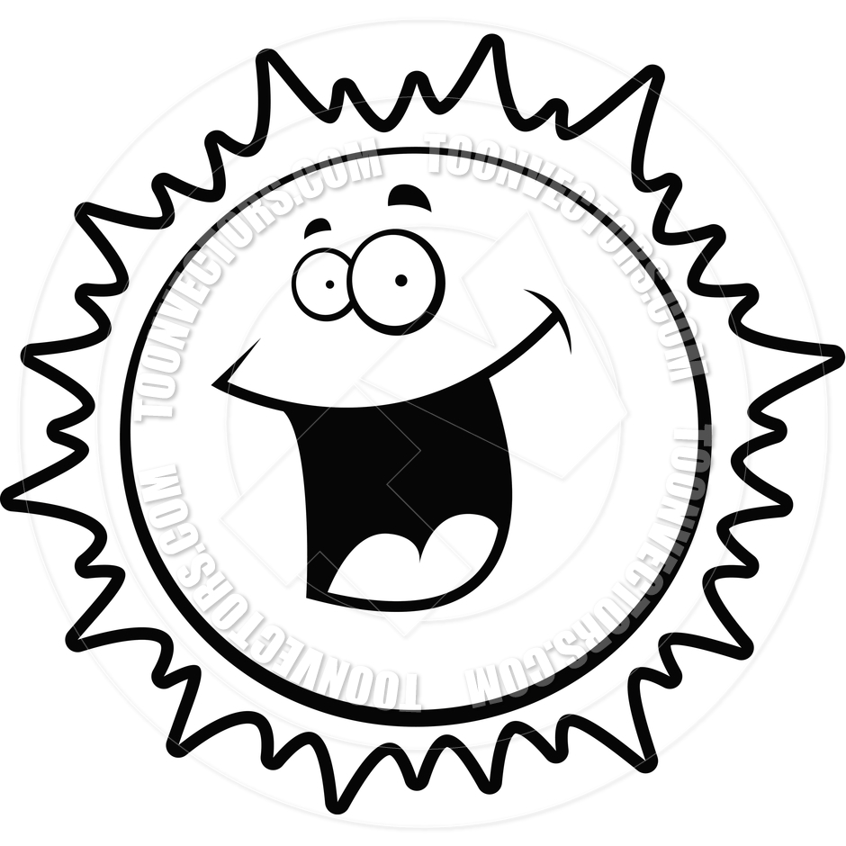 Sun clipart black and white 1 jpg.