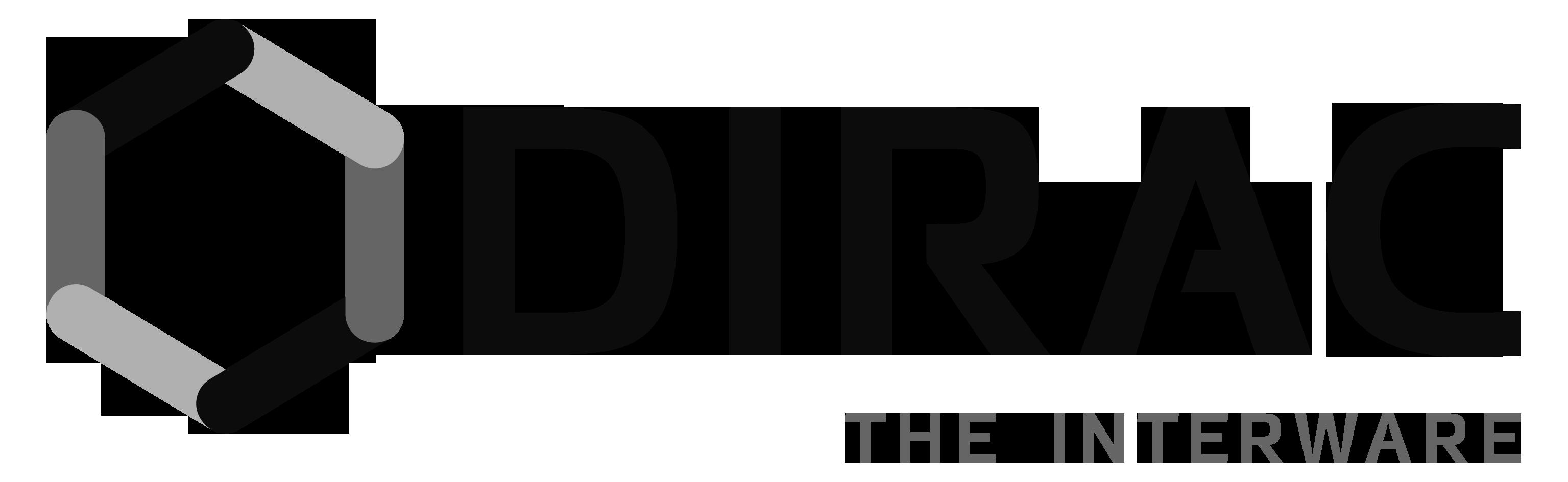 DIRAC logo black.