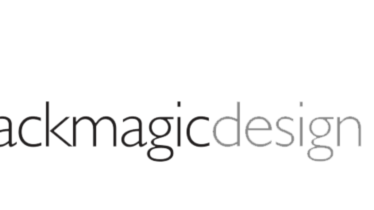 Blackmagic Design : Some Startups are Not to Make Money But.