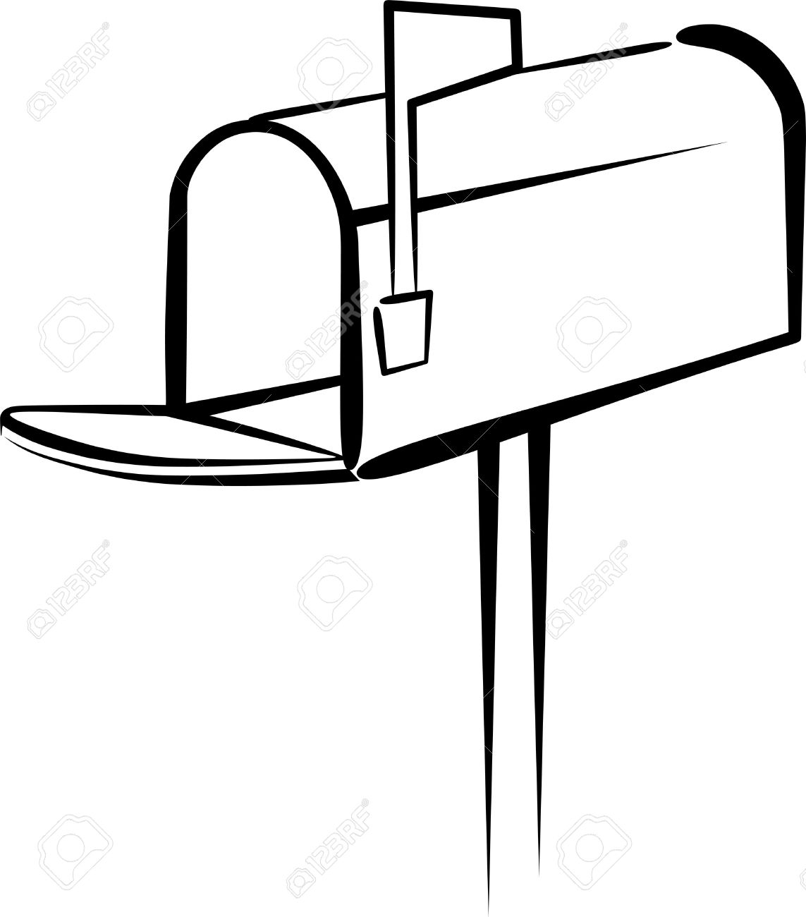 Mail box clipart.