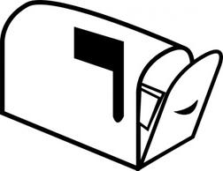 Clip art mailbox.