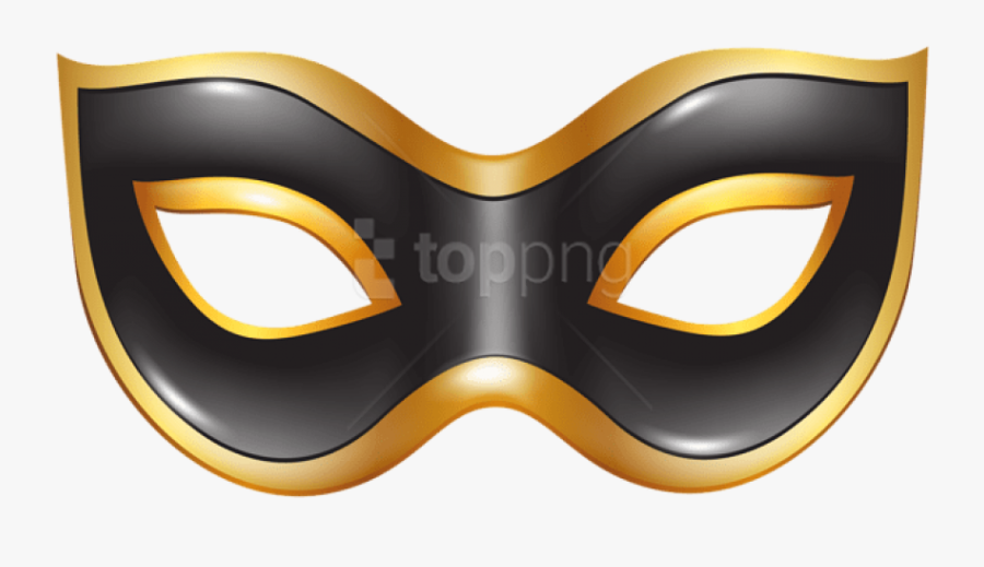 Black Mask Png.