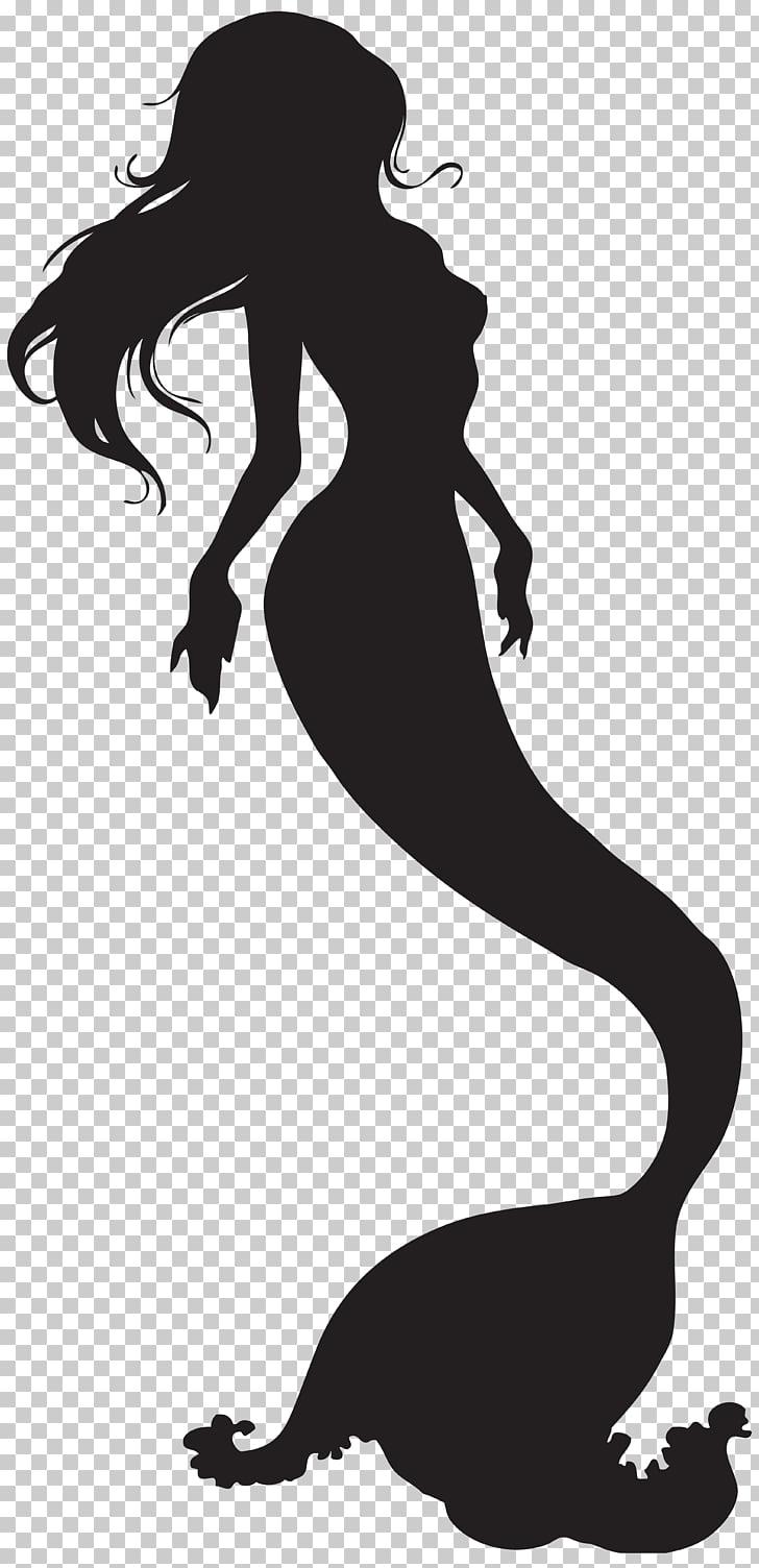 Mermaid Silhouette , Mermaid PNG clipart.