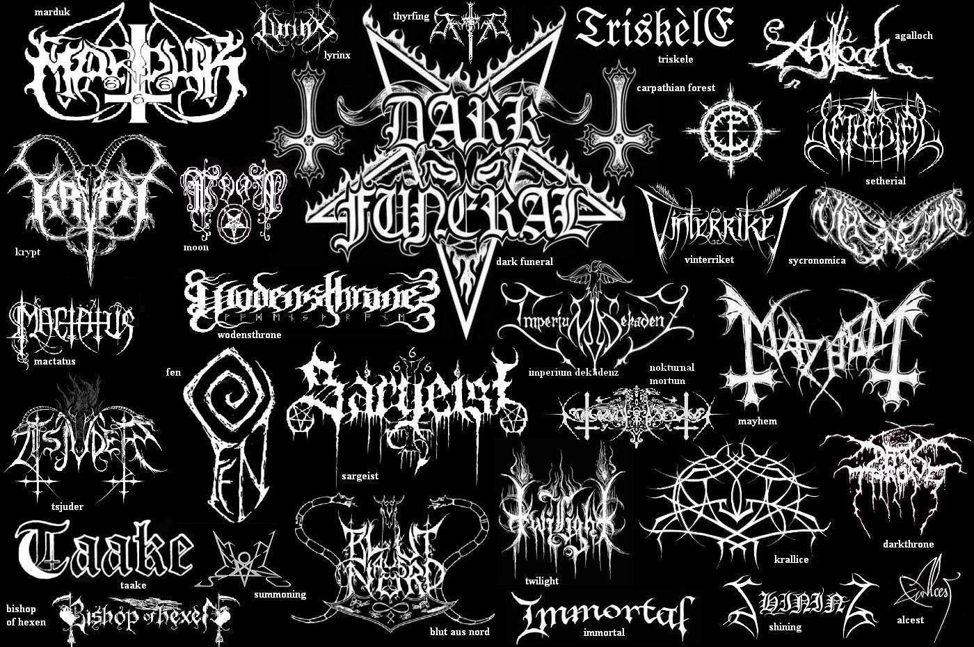 Black Metal Band Names in 2019.