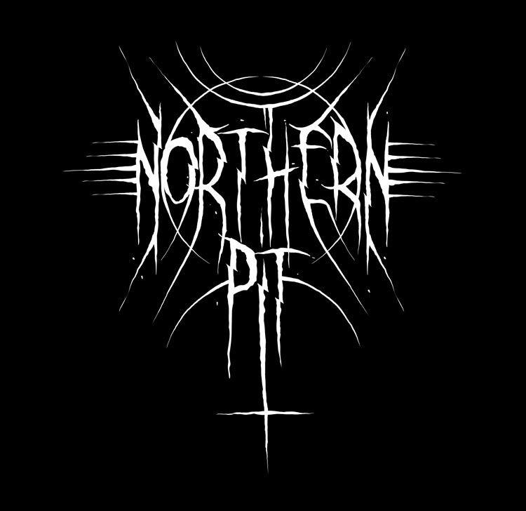 Northern Pit #NorthernPit #blackandwhite #logo #bandlogo.