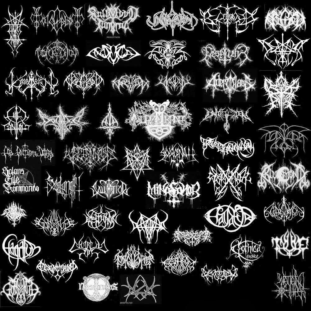 black metal band logo generator 10 free Cliparts