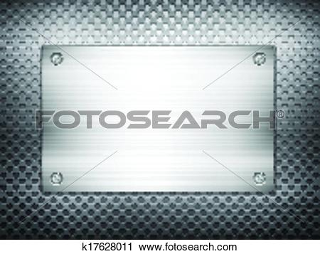 Clipart of black metal grid square plate 2 k17628011.