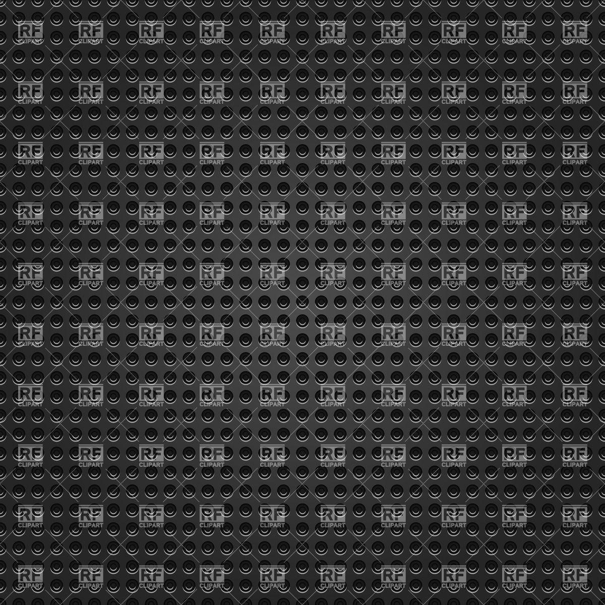 Perforated black metal grid background Vector Image #15379.