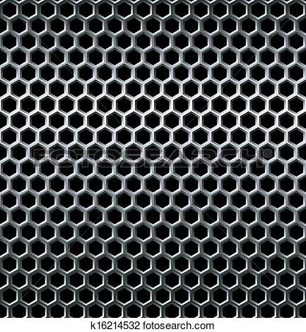Metal grid clipart.