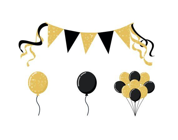 PARTY BALLOON CLIPART.