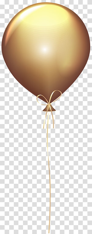 Maroon and gold balloon illustration, Balloon Gold , Red.