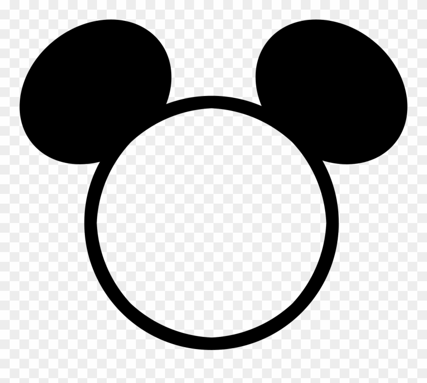 Mickey Mouse Head Outline Png.