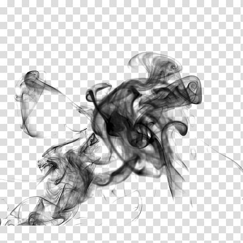 Black smoke illustration, Smoke Mist Fog, Mist transparent.