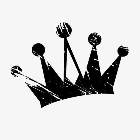 Black Crown, Crown Clipart, Black, Crown PNG Transparent.