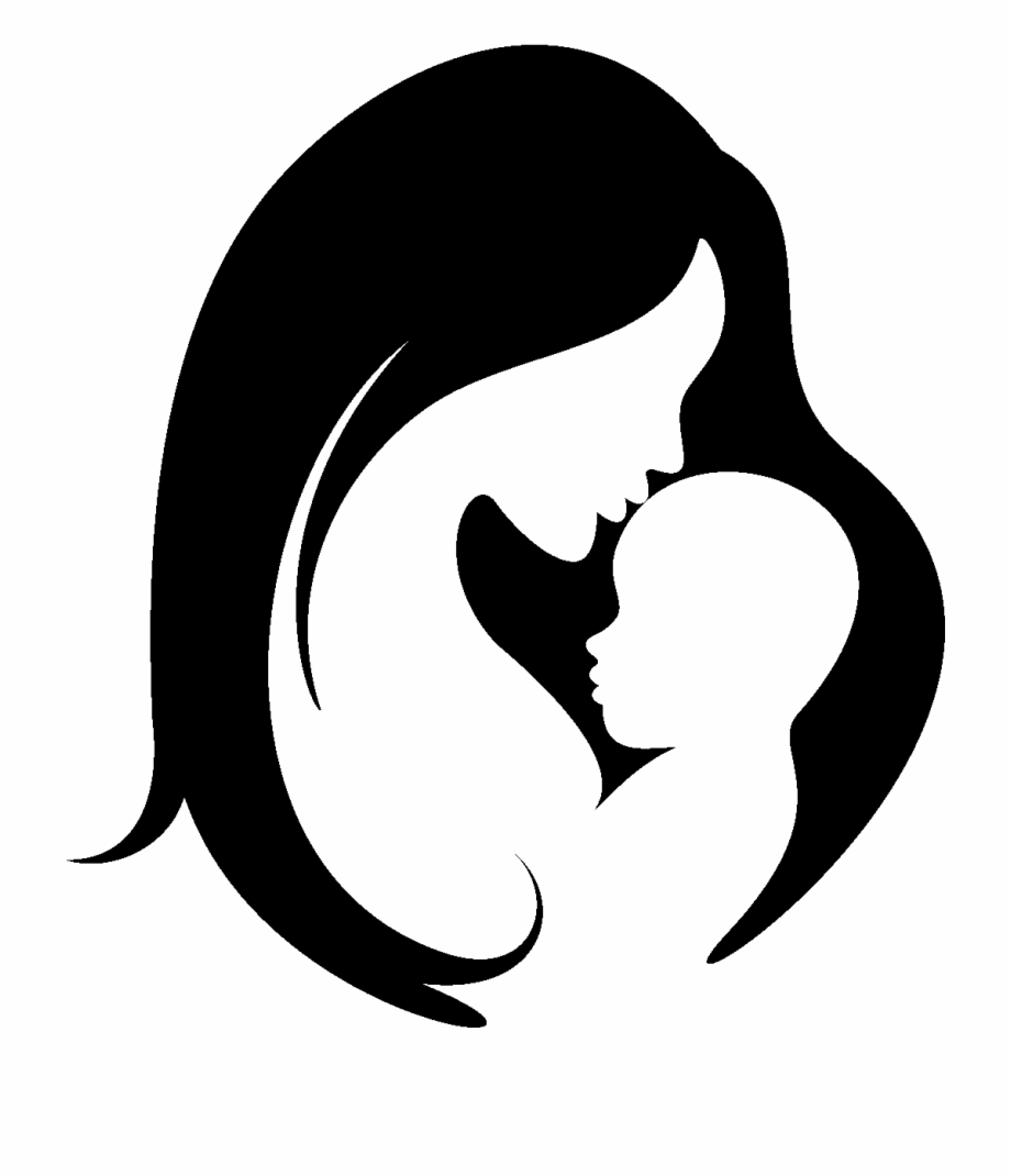 Baby Mama Mother Silhouette Child Hd Image Free Png.