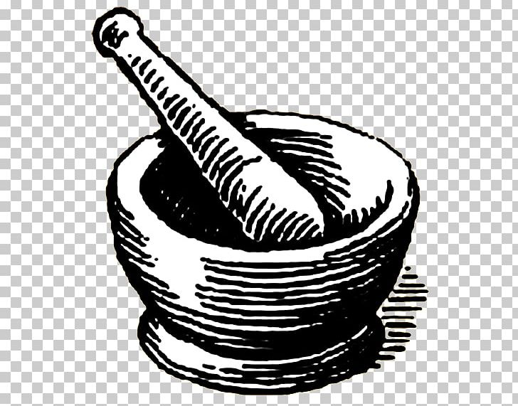Mortar And Pestle Pharmacy PNG, Clipart, Black And White.