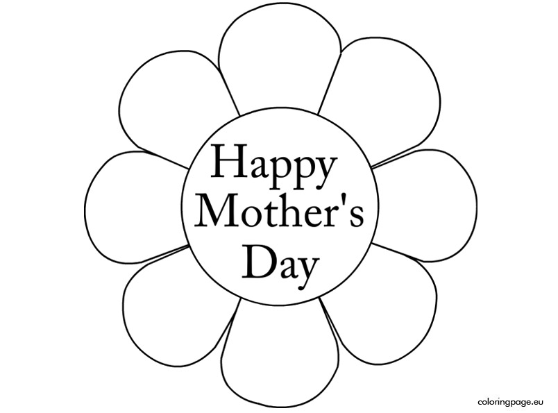 Black Mothers Day Clipart Clipartfox, Mother's Day Black And White.