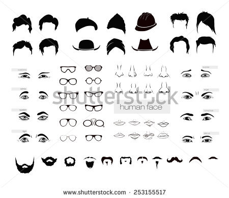 Human Nose Stock Images, Royalty.