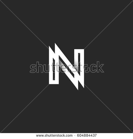 Black and white n Logos.