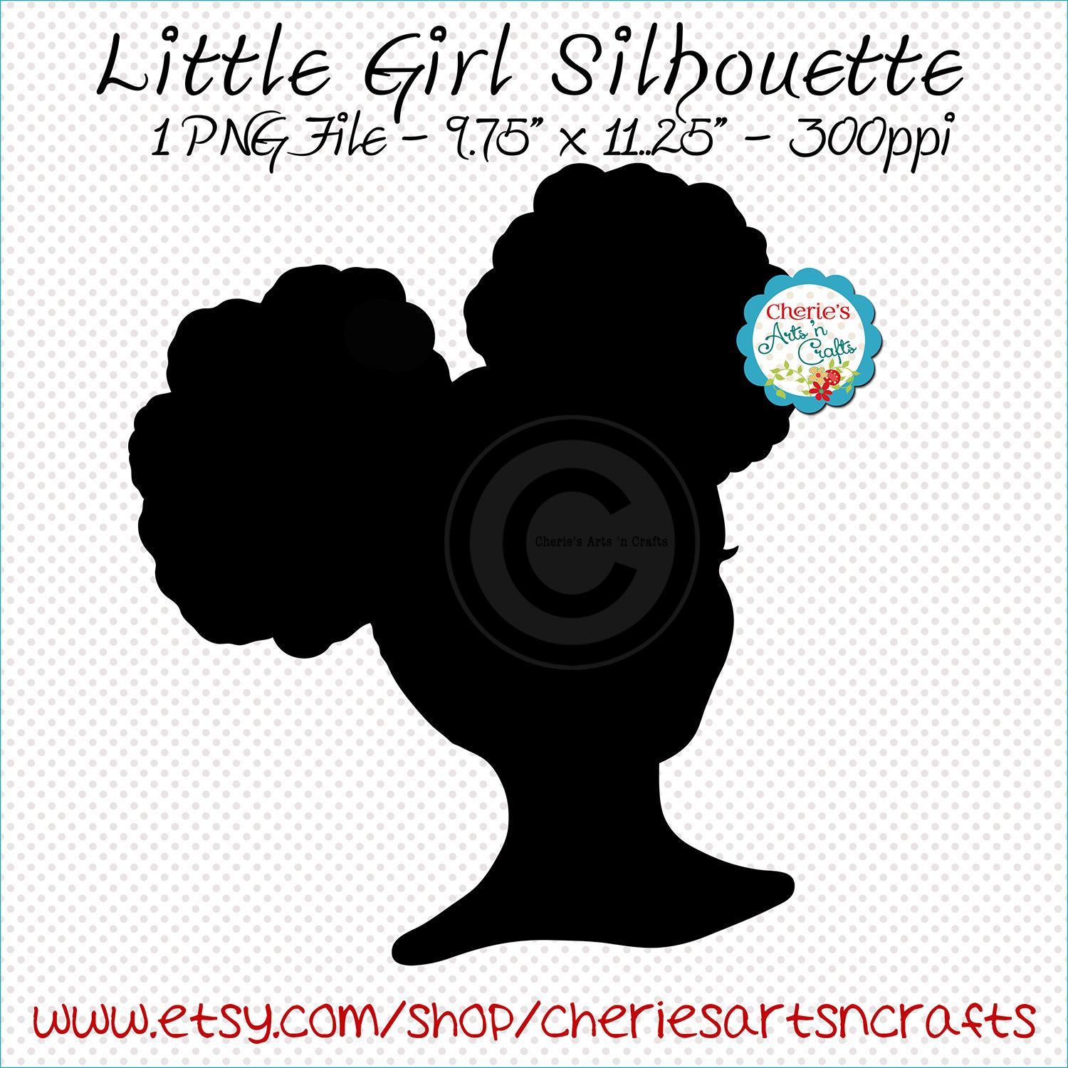 Natural Girl Silhouette.