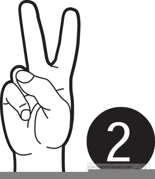 Number Clipart Black And White.