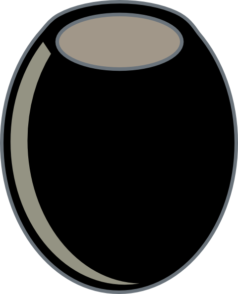 Clip Art Black Olives Clipart.