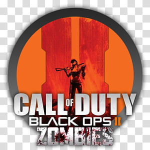 Call of Duty Black Ops Zombies Icon transparent background.