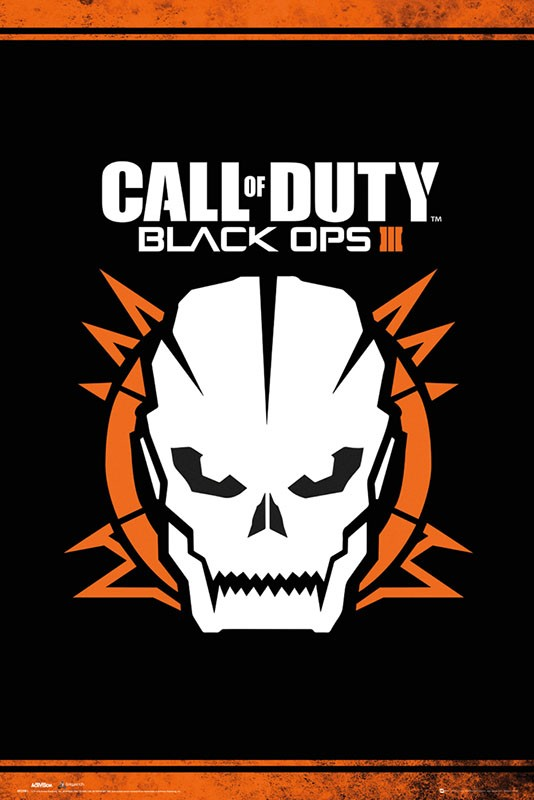 Call Of Duty Black Ops 3 Skull Poster.