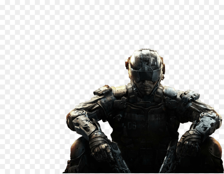 Call Of Duty Black Ops Iii Action Figure png download.