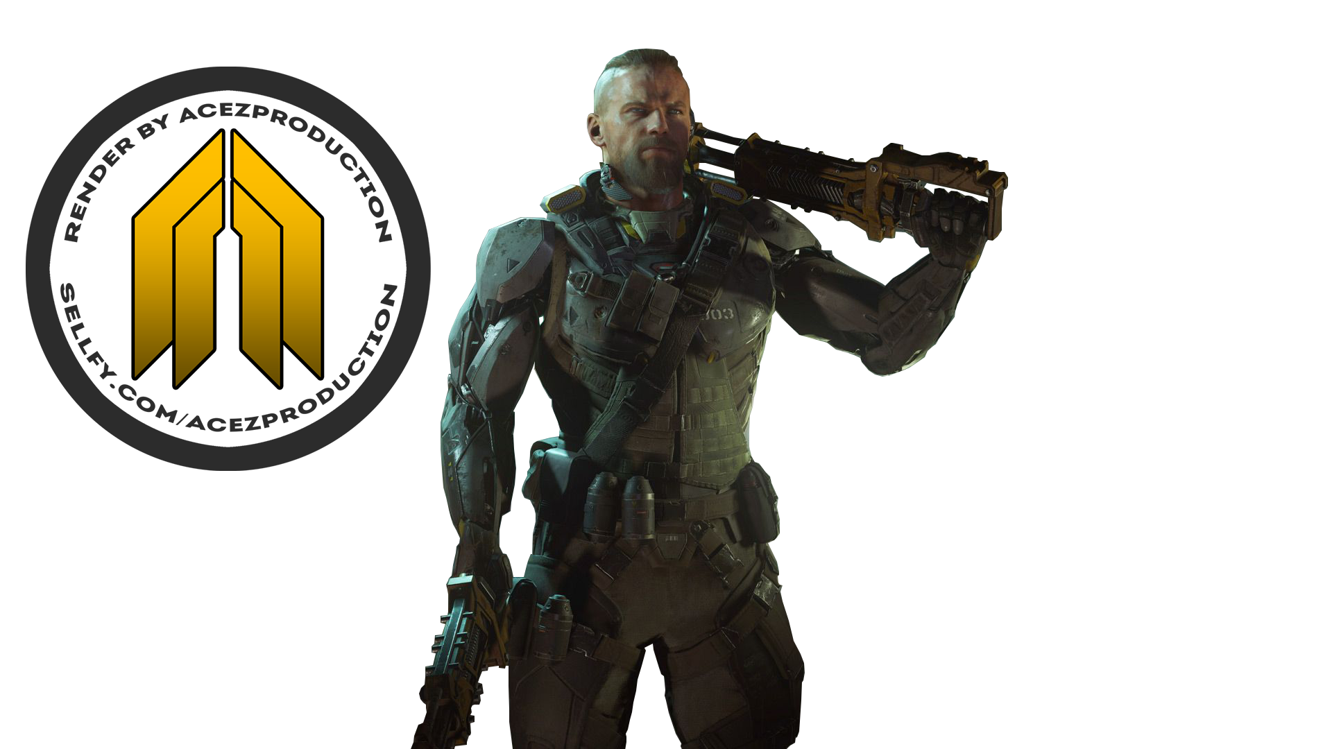 Black Ops 3 Character Png.