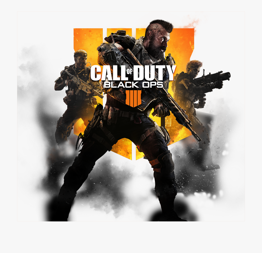 Call Of Duty Black Ops 4 Cover Image.