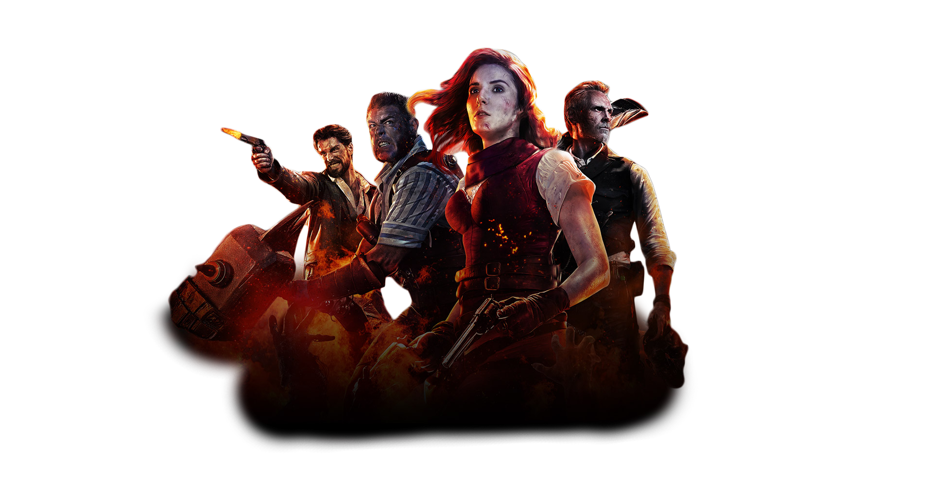 Black Ops 4 Zombie Mode Front Image PNG Image.