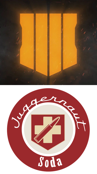 The Black Ops 4 logo resembles a perk rather ….